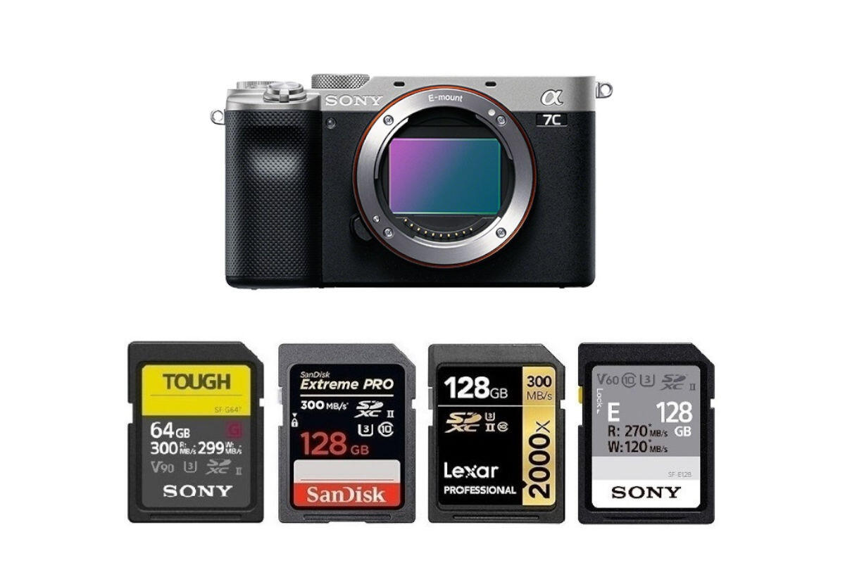 Best Memory Cards for Sony a7C