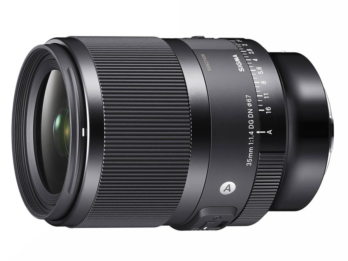 Sigma 35mm f/1.4 DG DN Art Lens Announced for Sony E-mount