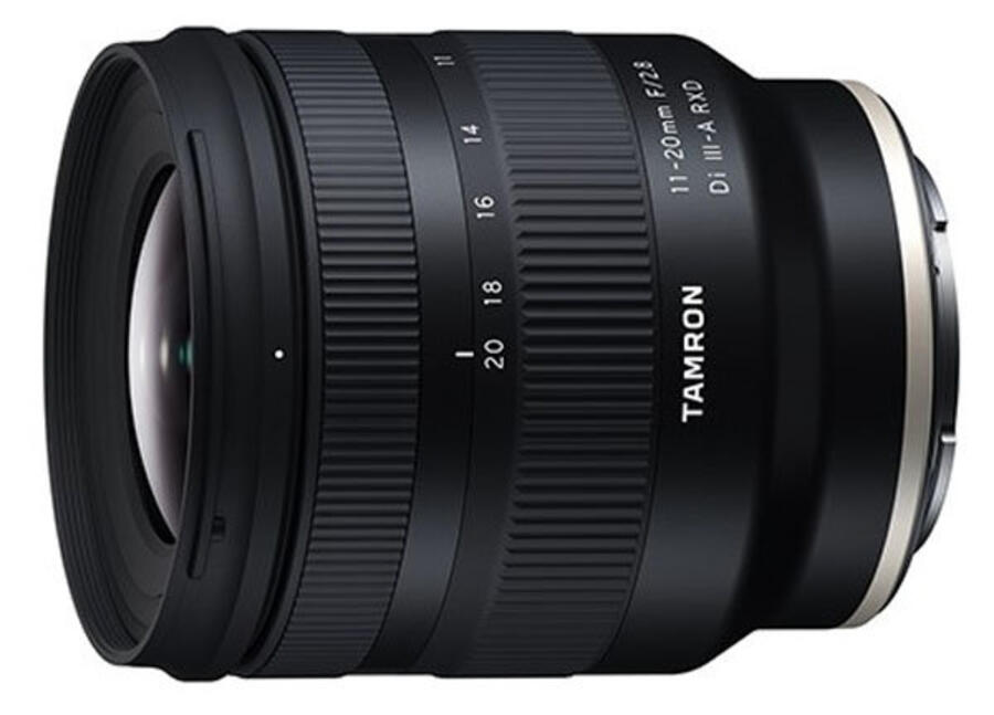 Tamron 11-20mm F/2.8 Di III-A RXD Lens Now in Stock and Shipping