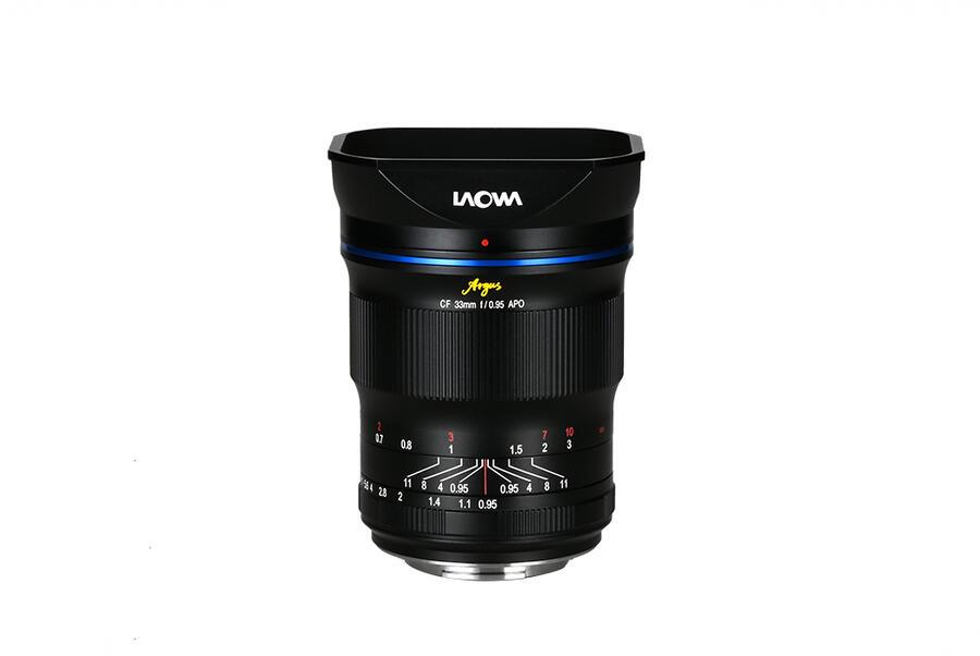 Laowa Argus 33mm f/0.95 CF APO lens for Sony E-Mount