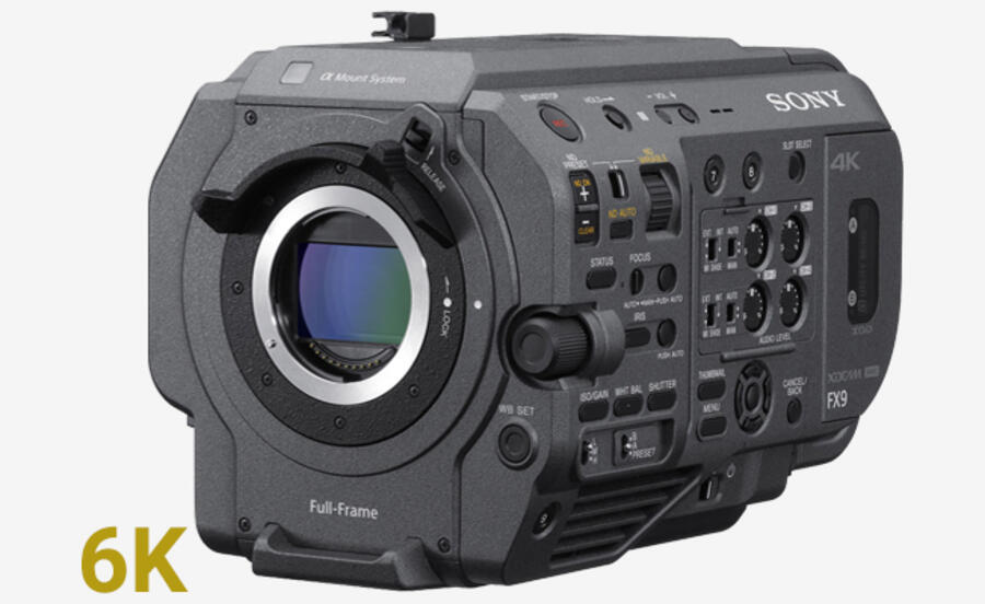 Sony FX9 Firmware Version 2.10 Released