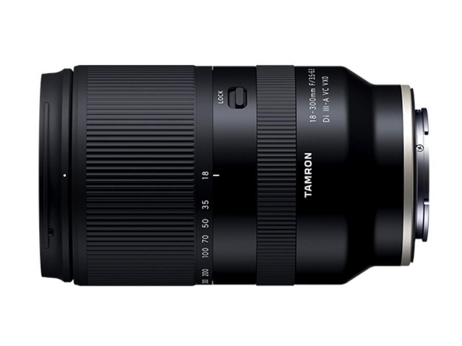 Tamron 18-300mm f/3.5-6.3 Di III-A VC VXD Lens Announced